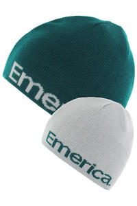 Emerica Pure Beanie reversible  (dark teal)