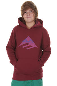Emerica Triangle Fill Hoodie kids (maroon)