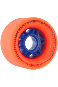 Orangatang Balut 72.5mm 80A Rollen 4er Pack  (orange)