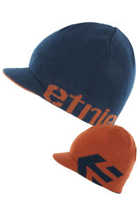 Etnies Breadwinner Visor Beanie (navy orange)