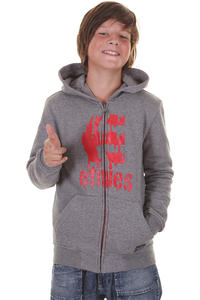 Etnies Drool Zip-Hoodie kids (grey heather)