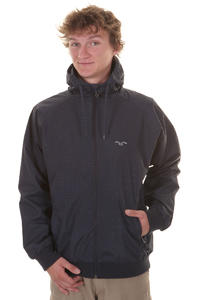 Cleptomanicx Burner Night Camo Jacke (navy)