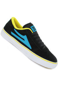 Lakai Manchester Select Suede Shoe (black cyan)