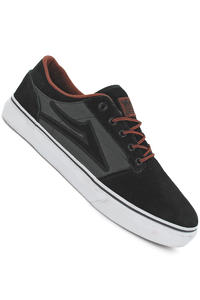 Lakai Brea Suede Shoe (black grey)