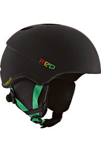 RED Hi-Fi Audio Snow-Helmet (rasta)