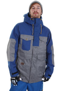 Analog Stanford Snowboard Jacke (river blue greyscale)