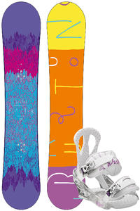 Burton Feather 153cm / Citizen L Snowboardset 2012/13  girls