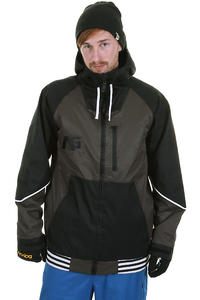 Analog Greed Snowboard Jacket (off black true black)