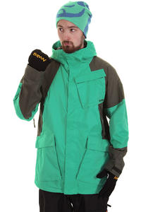 Analog Albatros Snowboard Jacke (teal off black)