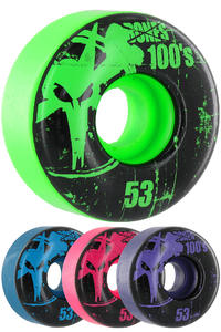 Bones 100's-OG #11-Party-Pack 53mm Rollen 4er Pack  (multi)