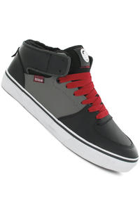 DVS Torey Snow Leather Shoe (black grey)