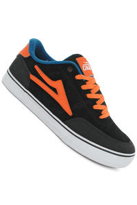 Lakai Encino Nubuck Shoe (black orange)