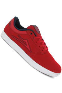 Lakai Linden Suede Shoe (red)