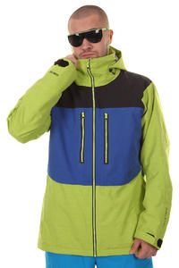 Burton AK 2L Stagger Snowboard Jacket (acid colorblock)