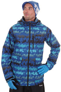 Burton TWC Prizefighter Snowboard Jacke (royal goestress print)
