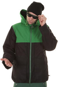 Burton Arctic Snowboard Jacke (true black murphy)