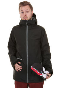 Burton Faction Snowboard Jacke insulated  (true black)