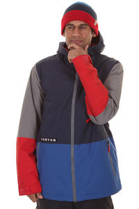 Burton Faction Snowboard Jacke insulated  (ballpoint colorblock)
