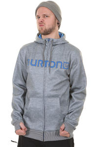 Burton Bonded Snow Zip-Hoodie (gray heather)