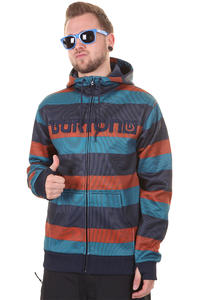 Burton Bonded Snow Zip-Hoodie (bombay servus stripe)