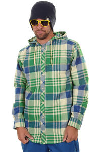 Burton Ruckus Flannel Snow Zip-Hoodie (murphy vandyke plaid)
