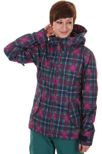 Burton Penelope Snowboard Jacket girls (hex radiant plaid)