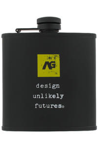 Analog Contraband pocket flask (true black)