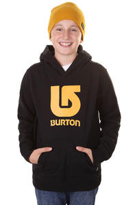 Burton Logo Vertical Hoodie kids (true black)