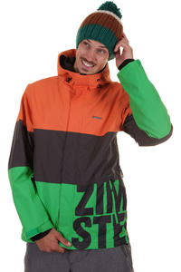 Zimtstern Follower Snowboard Jacke (green)