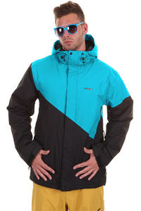 Zimtstern Brave Snowboard Jacke (black blue)