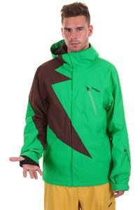 Zimtstern Flash Snowboard Jacke (green brown)