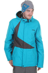 Zimtstern Vega Snowboard Jacket (blue dark grey)
