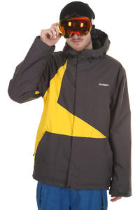 Zimtstern Vega Snowboard Jacket (dark grey yellow)