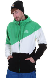 Zimtstern Popeye Snow Zip-Hoodie (green)