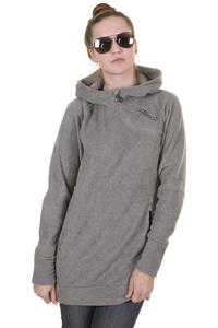 Zimtstern Olivia Snow Hoodie girls (grey melange)