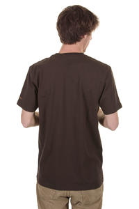Cleptomanicx Möwe T-Shirt (dark brown)