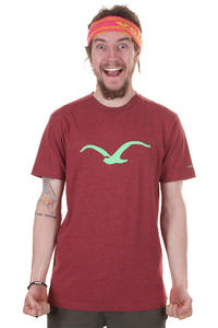 Cleptomanicx Möwe T-Shirt (heather dried tomato)