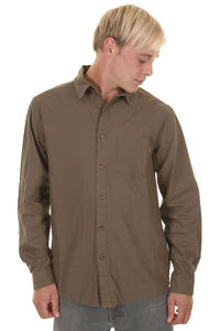 Cleptomanicx Plain Shirt (moor)