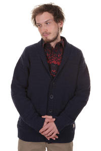 Cleptomanicx Capo Strickjacke (navy)
