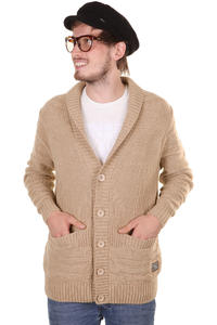 Cleptomanicx Capo Strickjacke (toasted coconut)