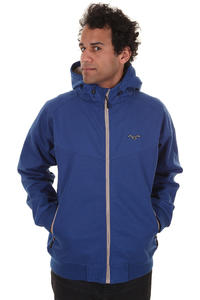 Cleptomanicx Burner Bonded Jacke (soda blue)