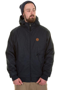 Cleptomanicx Polarzipper Hemp Jacke (dark navy)