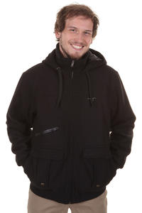 Cleptomanicx C4 Aal Jacke (black)