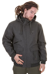 Cleptomanicx C4 Aal Jacke (heather dark grey)