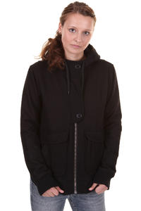 Cleptomanicx Kong Jacke girls (black)