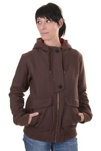 Cleptomanicx Kong Jacke girls (pepper)