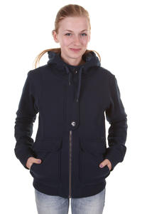 Cleptomanicx Kong Jacket girls (navy)