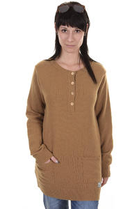 Cleptomanicx Sarai Sweatshirt girls (toasted coconut)