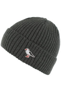 Cleptomanicx Hafen Gull Beanie (heather dark grey)