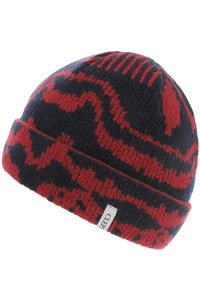 Cleptomanicx Popokatepetl Jacquard Beanie (dark navy)
